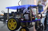Línea autónoma DIY seguimiento con obstáculos evitando Robot (Rover)