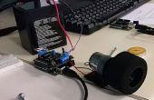 Cómo utilizar su MotorShield con motores de corriente continua