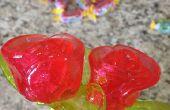 Microondas Jolly Rancher rosas
