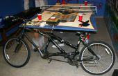 Bicicleta de dos personas de la cinta del pato