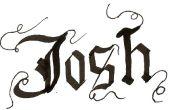 Cómo escribir en caligrafía gótica