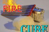 Cubo (iniciador de fuego) el fuego