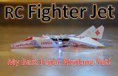 Jet de combate RC papel