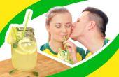 Limonada casera brasileña