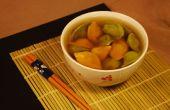 Sopa de Wonton colorido (vegana)