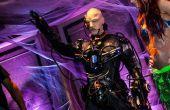 Locutus de Borg traje (Cyborg) con real robótica, luces y sonido y 36.000 mAh de potencia!!