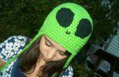 Sombrero de Alien verde