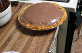 3.14 la capa Pi de budín de bizcocho de Brownie de Chocolate Triple