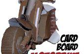Hacer una moto de cartón 3D tamaño real