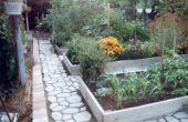 Un mejorado elevado cama de jardín