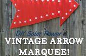 Energía Solar DIY flecha Vintage carpa!