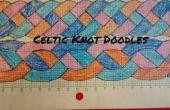 Cómo dibujar nudo céltico garabatos