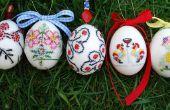 Chaqueta bordada huevos