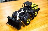 Un 3D impreso cargador frontal