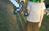 Sencillo traje de Minecraft Creeper