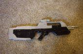 Como hacer un Rifle de batalla de la vida tamaño Halo 3