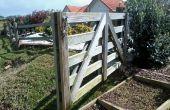 Una simple puerta de jardín
