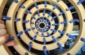 Coser 3D: anillos con cuerda
