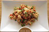 Receta de arroz frito