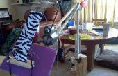 Hacer un arte de una lámpara de brazo