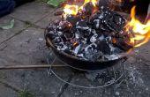 Cómo hacer una fragua de una barbacoa