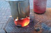 Extintor de incendios forjar