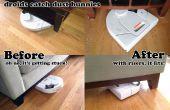 Elevadores de muebles - ayuda limpieza droides coger más conejitos de polvo debajo del sofá