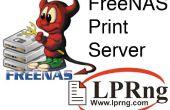 FreeNAS como un servidor de impresión