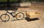 Remolque de bicicleta para transportar cargas pesadas