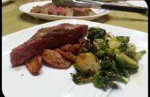 Marinados filete - flanco - con alioli de pepino