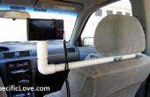 Cómo hacer un Simple coche de PVC cámara montaje aparejo