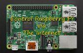 Control LED via web