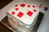 Hacer un pastel de Minecraft