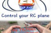 Controlar tu avión RC con Acclerometer tu teléfono