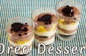 Super postre cremoso de Oreo rápido, Mango y cacao