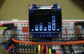 Analizador de espectro OLED w/arduino y MSGEQ7