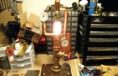 Lámpara Industrial de latón