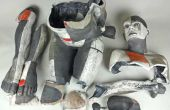 Reparar una estatua o escultura de piedra