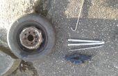 Talón del neumático ruptura, remoción y colocación.