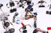 Sparebots bolsa basura electrónica DIY proyecto