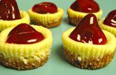 Recortadoras de chapas de mini tarta de queso