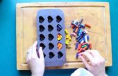 DIY reciclado lápices de colores