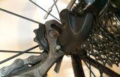 Cadena de limpieza y mantenimiento de bicicletas