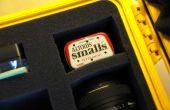 DIY Altoids lata cámara caso desecante Pack