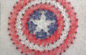 Capitán América cadena arte