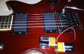 18V mod (guitarras con EMGs) en 2 minutos - sin herramientas SOLDERLESS REVERSIBLE y sin nuevas piezas