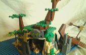 Captura la esencia de un Lego pirata isla