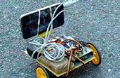 Robot controlado por Skype con smartphone y tonos DTMF