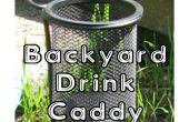 Patio trasero bebida Caddy