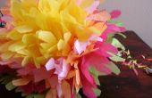Flores mexicanas de papel